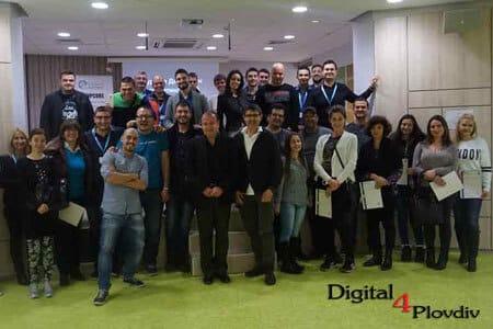 Участници в курса по Дигитален маркетинг и SEO в Пловдив - Digital4Plovdiv