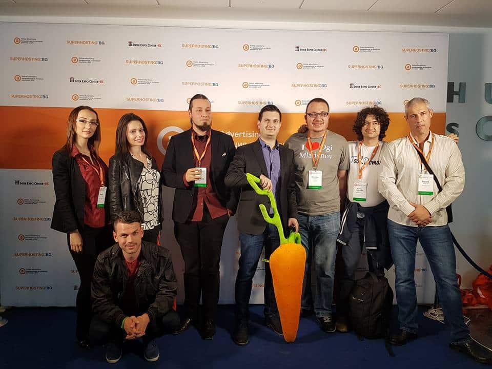 SEOMAX на конференция по онлайн маркетинг и SEO 2017 OACONF