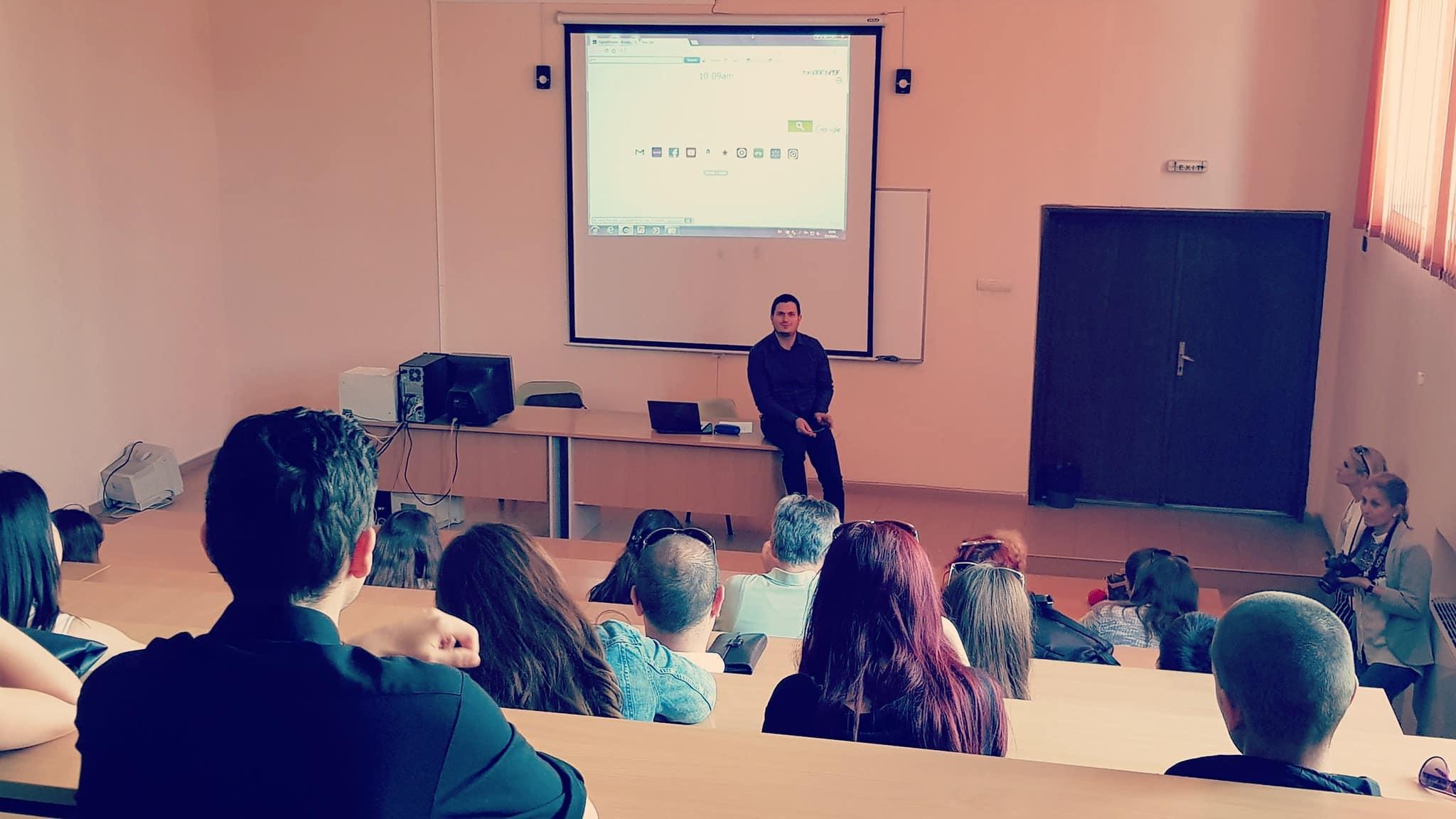 лекция по дигитален маркетинг и SEO