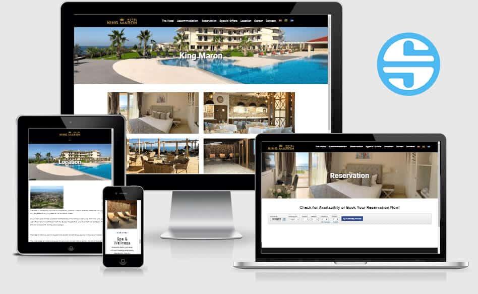 Изработка на уеб сайт kingmaron.gr