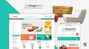 Mega Mart theme за онлайн магазин