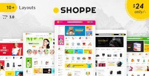 Shoppe theme за онлайн магазини