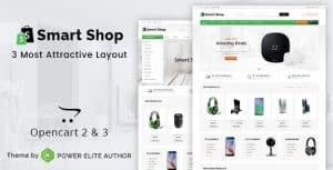Smart shop theme за онлайн магазин
