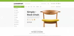 WoodMart theme за онлайн магазин