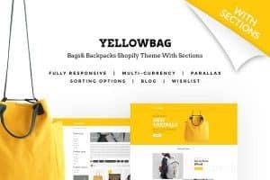 YellowBag theme за онлайн магазин